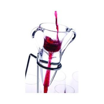 Decantus, om wijn snel en makkelijk extra lucht te geven