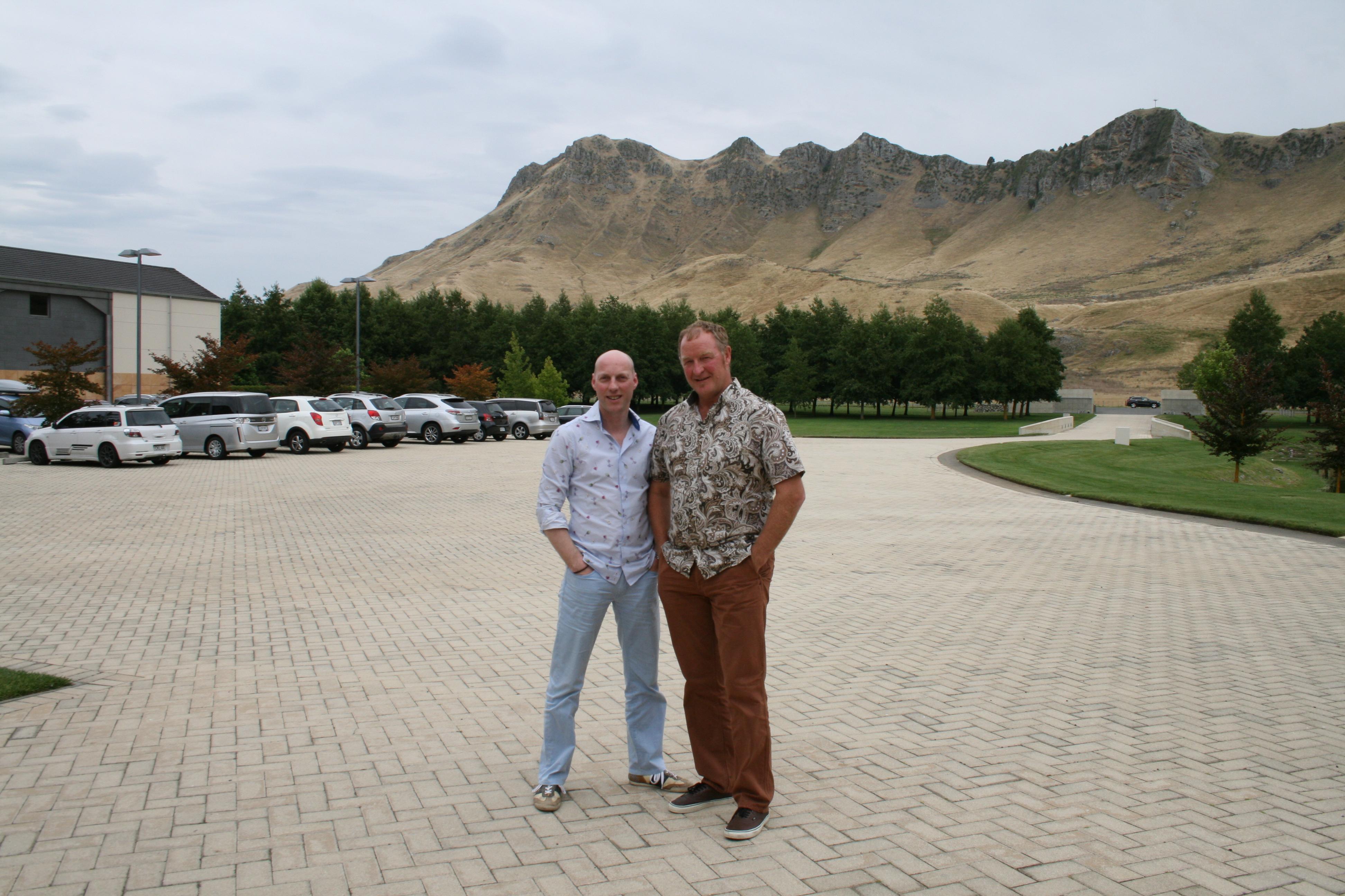 Edwin Raben en Steve Smith