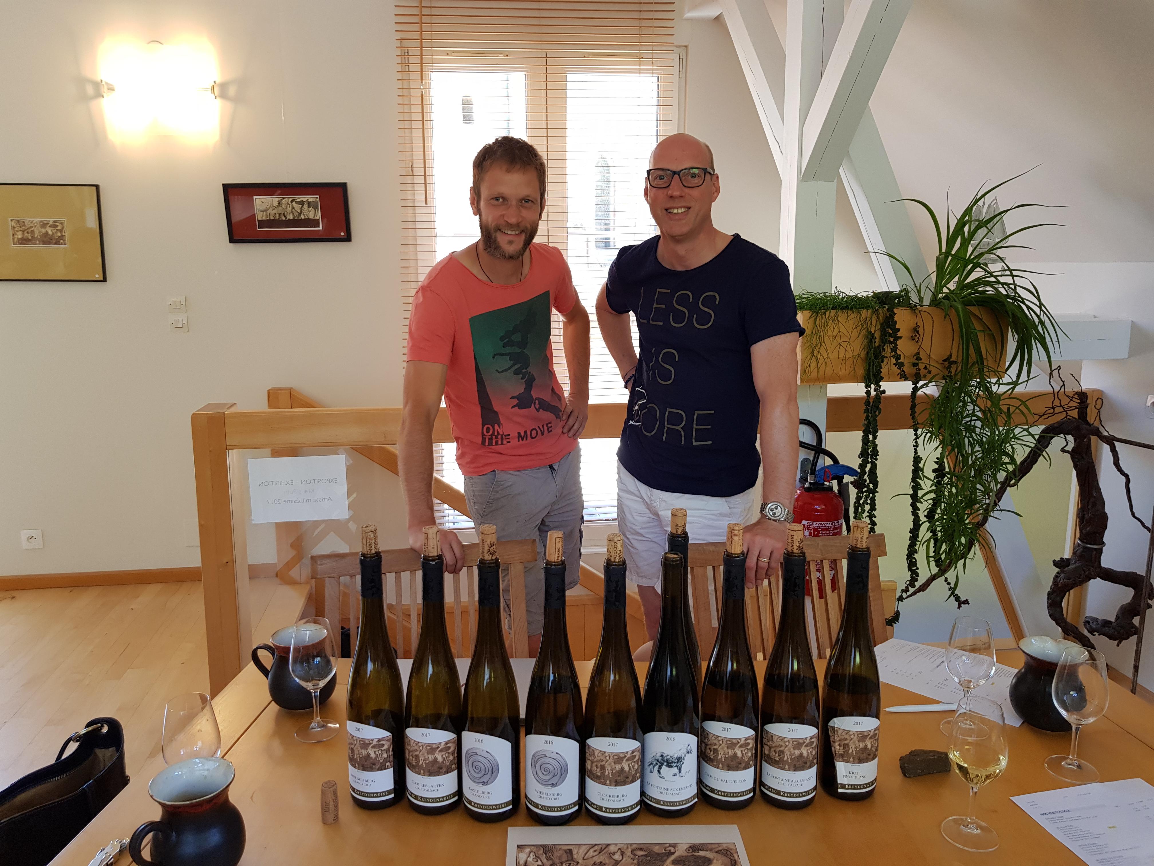 Antoine Kreydenweiss en Edwin Raben