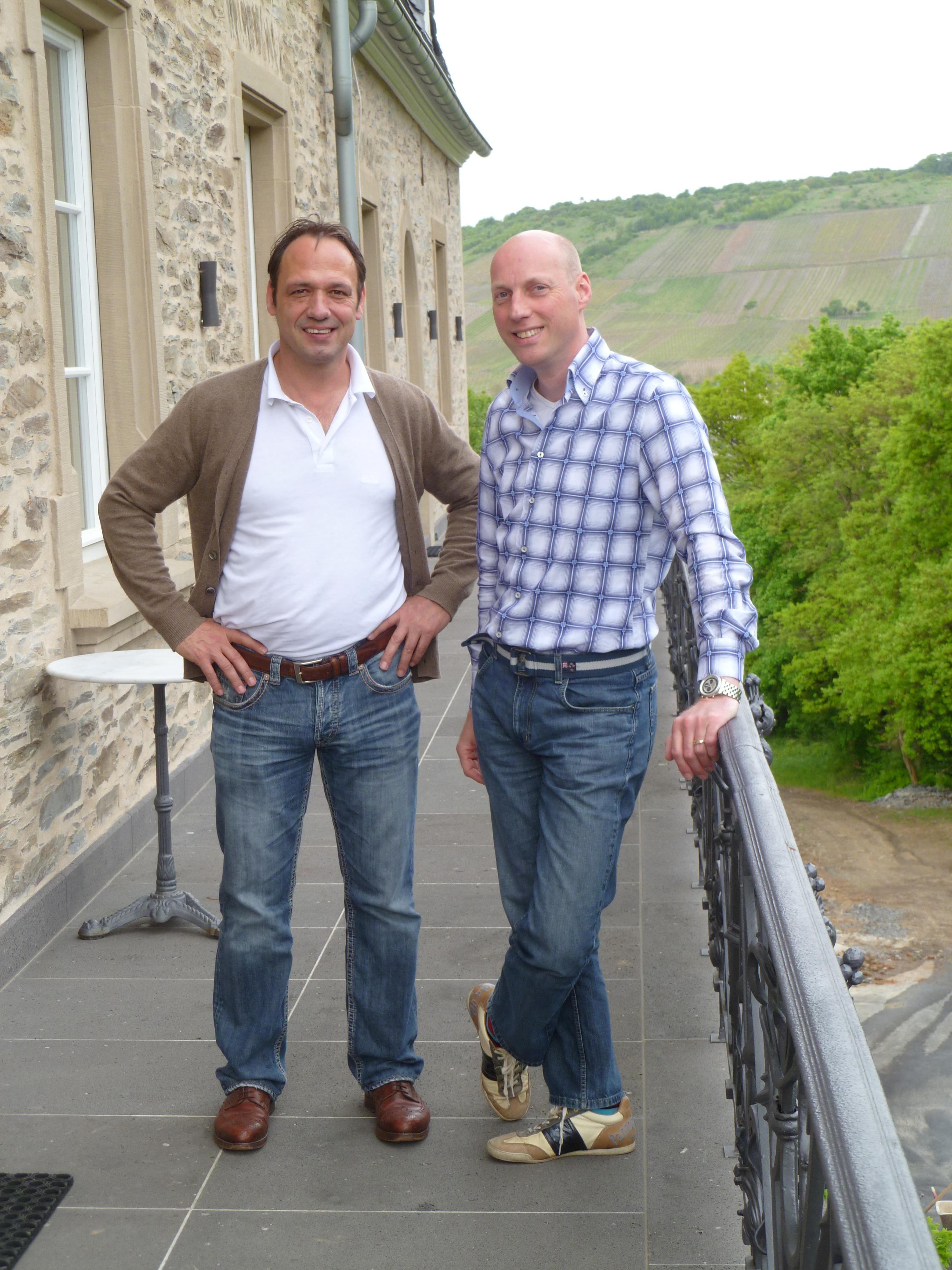Edwin Raben op bezoek bij Markus Molitor