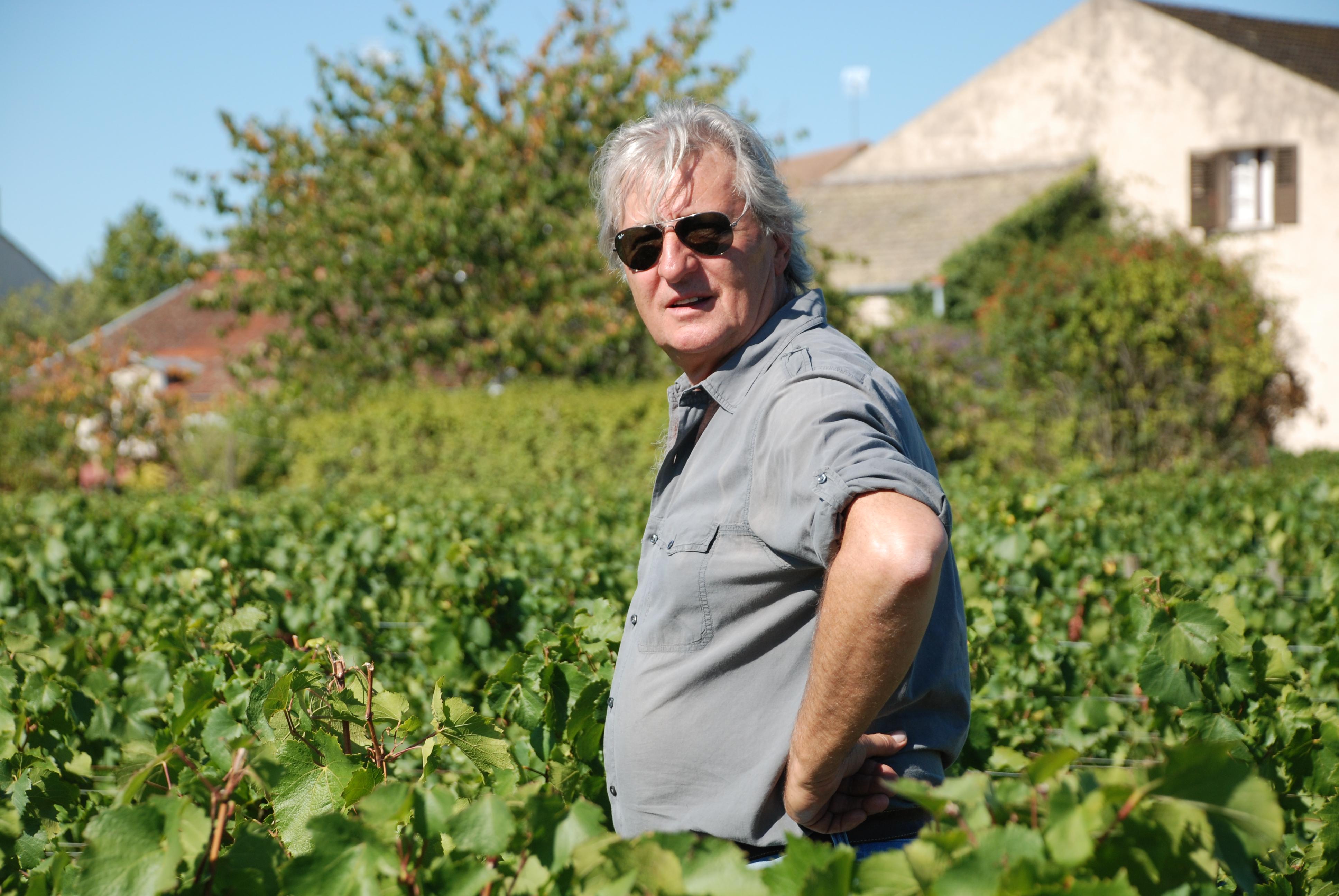Marc Rougeot is de wijngaard