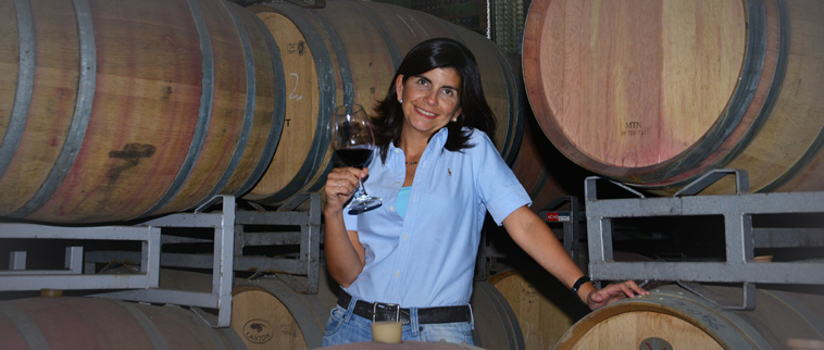 Paula Bottera wijnmaakster