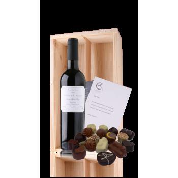 Banyuls cadeau met Visser chocolade