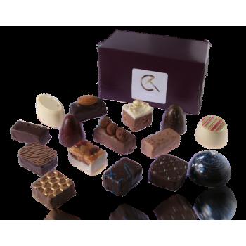 Handgemaakte chocolade bonbons van Visser (225 gr.)